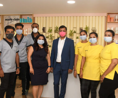 Marie Claire Paris Salon Launched in Vadodara, Gujarat