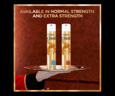 L'Oréal Paris Elnett Satin Hair Spray Launched in India