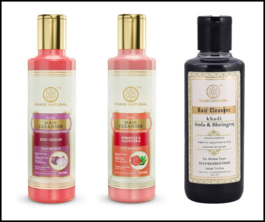 Khadi Natural Healthcare Offers Hair Cleansers for Complete Haircare