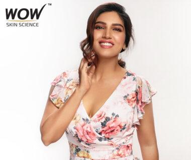 Bhumi Pednekar Signed as Brand Ambassador for WOW Skincare Line