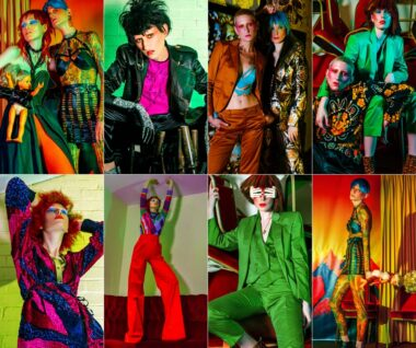 Anne Veck's New Collection Captures 70s Glam rock