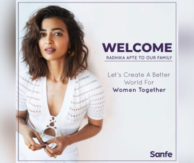 Radhika to champion giving women a choice and voice for their intimate skincare, health, and hygiene
